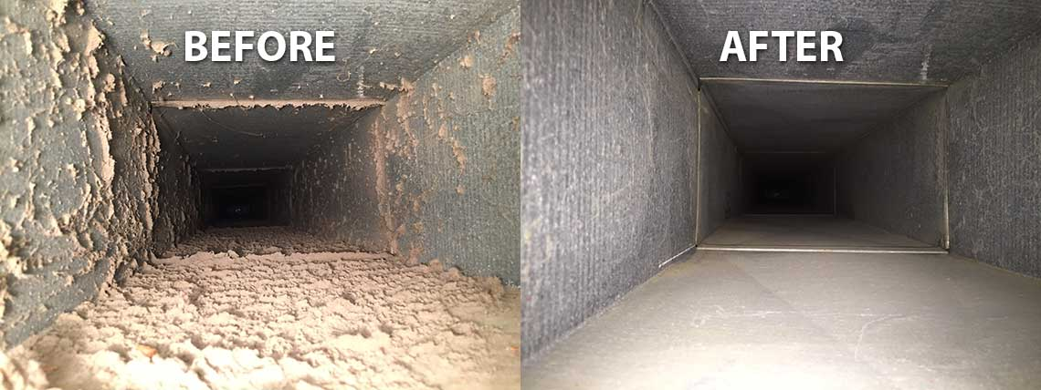 Image result for duct cleaning before and after